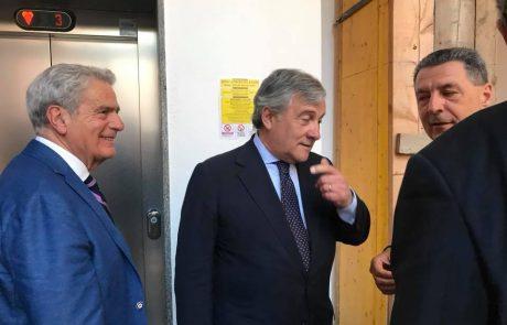 """Tajani: """"Arena porterà Viterbo in Europa"""""""