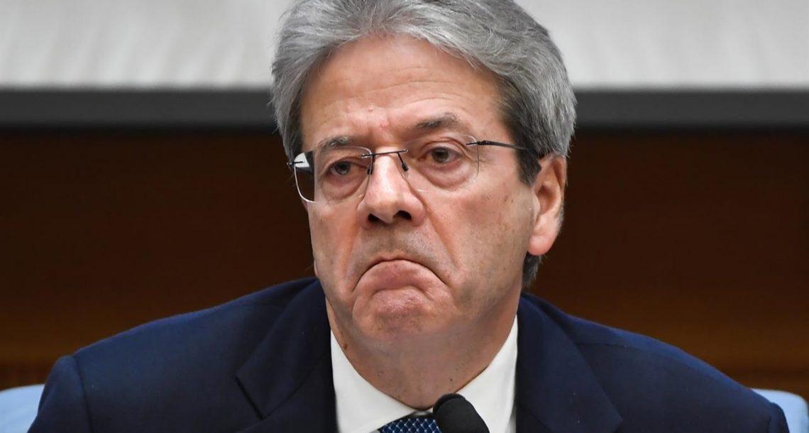 Gentiloni: incomprensibile l'appoggio a Zingaretti
