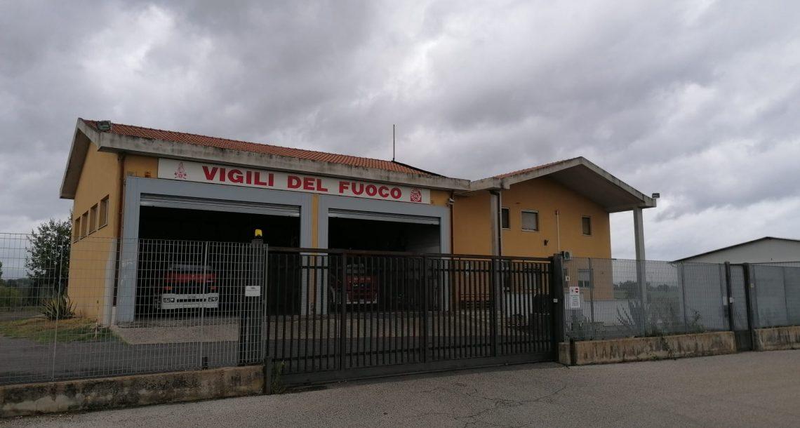 Vigili del fuoco Civita Castellana, servizi igienici fatiscenti e muffa