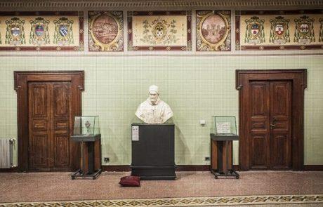 Ritratto di cardinale, inaugurazione del dipinto restaurato
