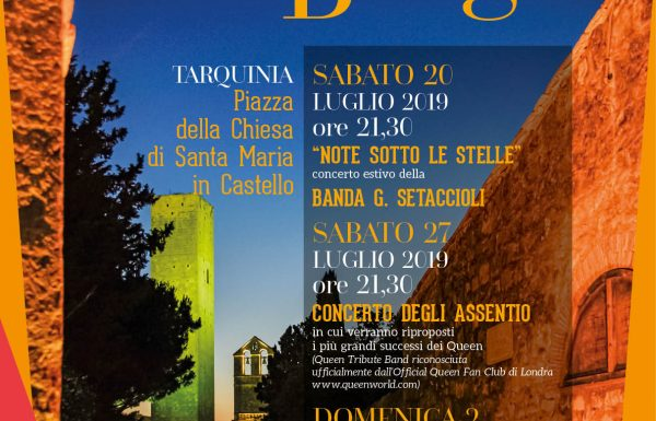 """A Tarquinia inizia """"Musica al Borgo"""""""