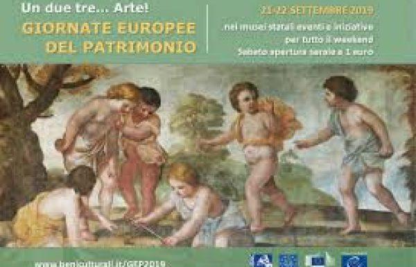Il 21 e il 22 settembre le giornate europee del patrimonio