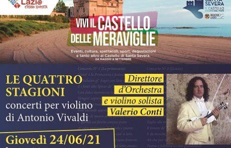 Concerto di beneficenza con Le quattro stagioni di Vivaldi