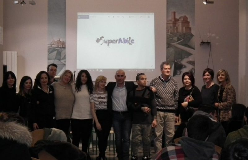 Lorenzo, Giulia, Chantal: successo a Pisa per i testimonial SuperAbile